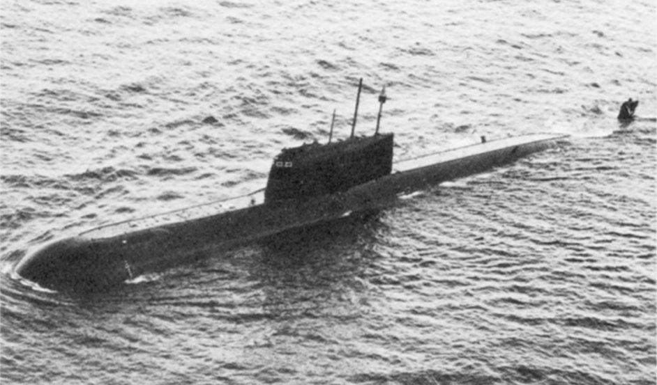 подводная лодок комсомолец